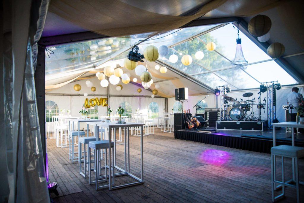 Bruiloftsfeest verzorgen door Top Partyverhuur 2